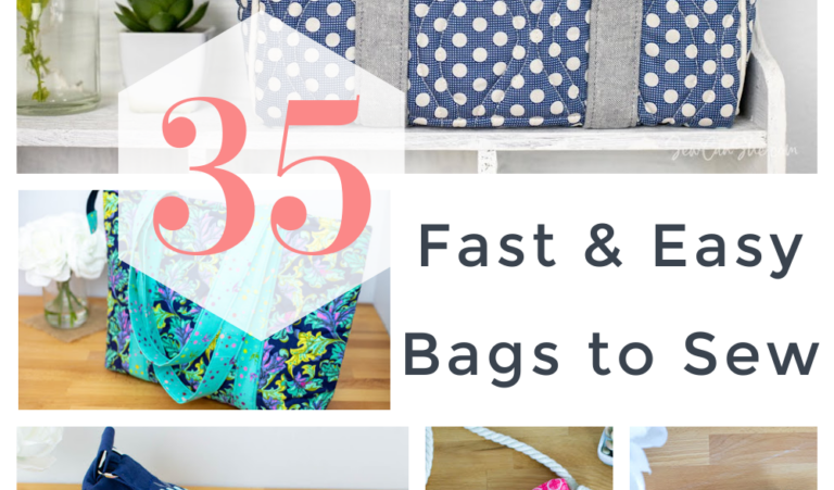 35 Fast and Easy Free Bag Patterns