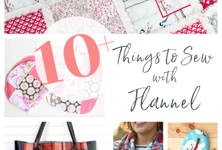 10+ Things to Sew with Flannel – free sewing patterns