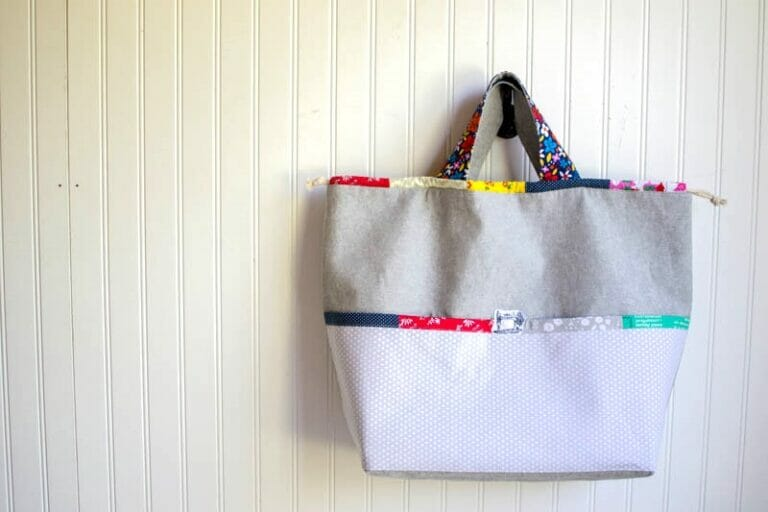 Japanese Knock off Tote Bag – free sewing tutorial