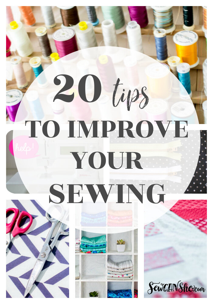 20+ Free Sewing Tips for Fabulous Finishes