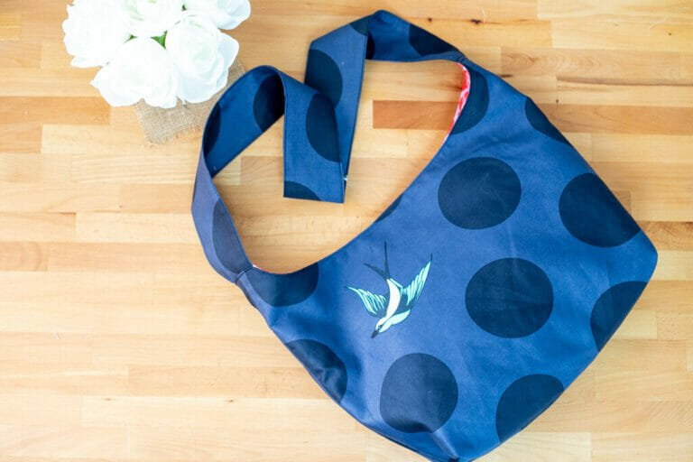 How to Sew an Easy Sling Bag – Free Sewing Pattern