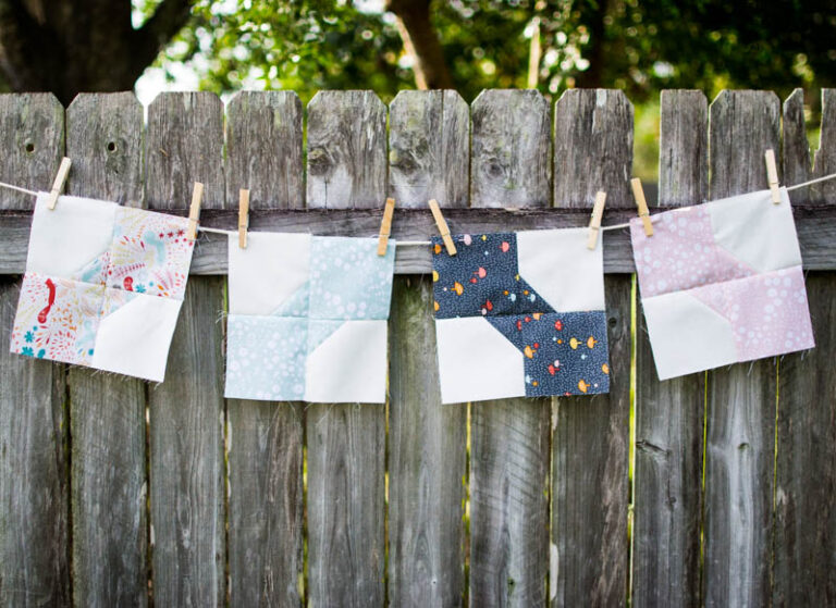Bow Tie Baby – Free Baby Quilt Pattern
