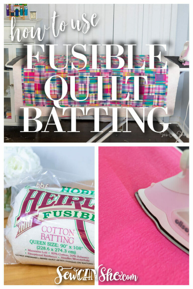 How to Use Fusible Quilt Batting to Baste a Quilt