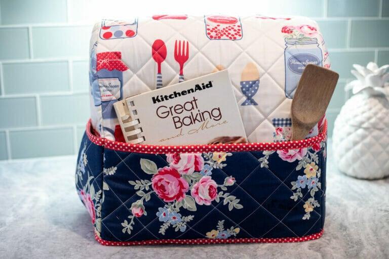 DIY KitchenAid Mixer Cover Free Sewing Pattern