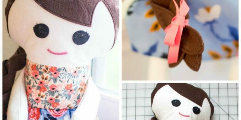 Adorable Free Fabric Doll Pattern – Meet Katy!