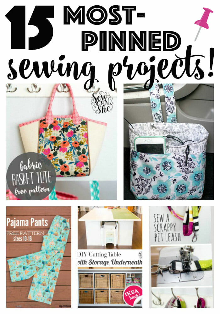 15 Sewing Projects with the Most Pins (& re-pins!)
