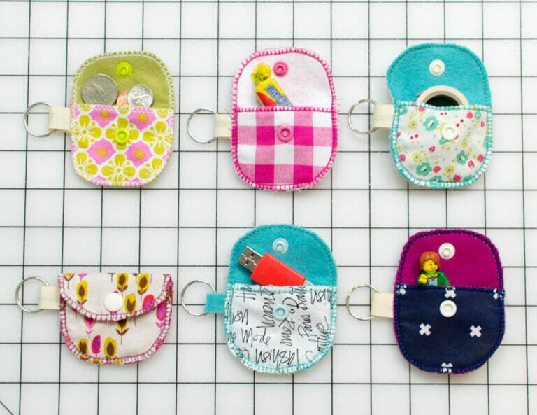 Bit O' Kindness Pouches {easy sewing tutorial}