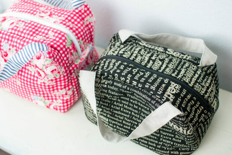 Chubby Lunch Tote – Free Sewing Pattern {part 2}