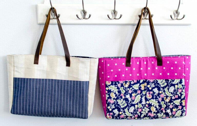 Strappy Bag with Pockets – Easy DIY Sewing Tutorial!