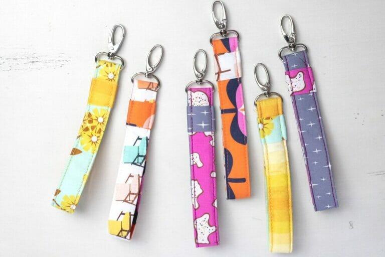 Sew a DIY Wristlet Key Fob – fast and easy gift idea!