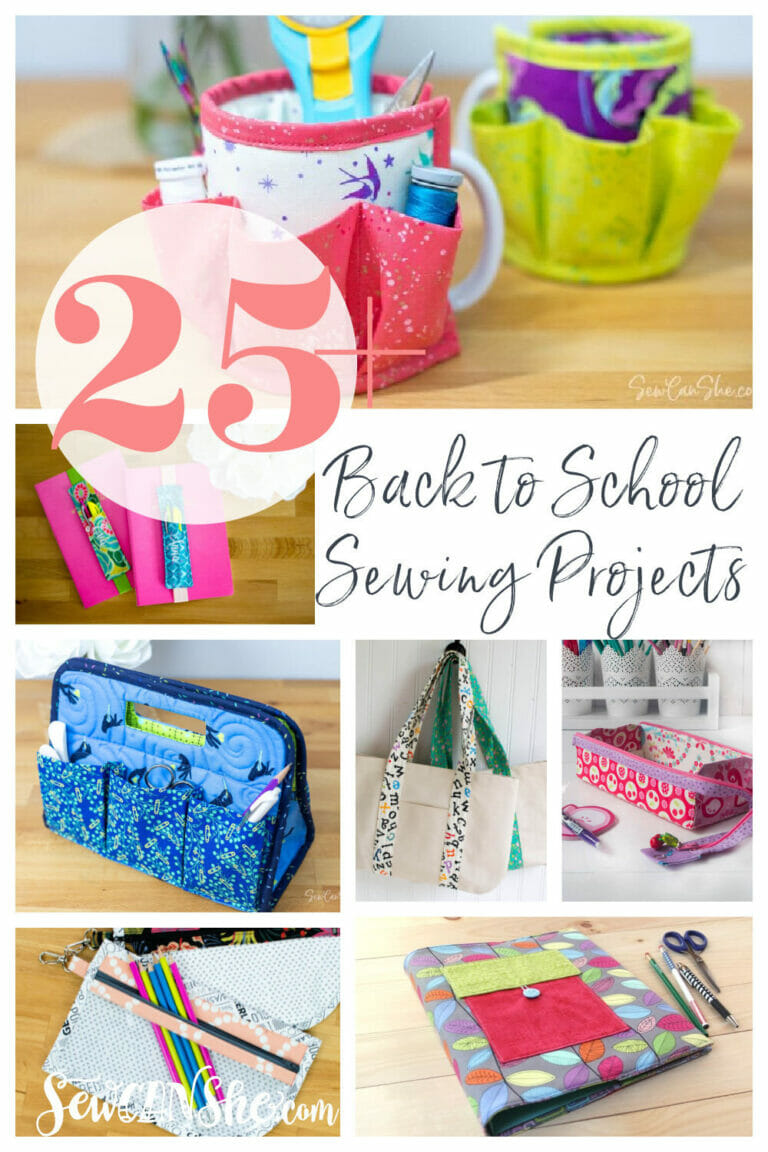 25+ Back to School Projects to Sew – All Free