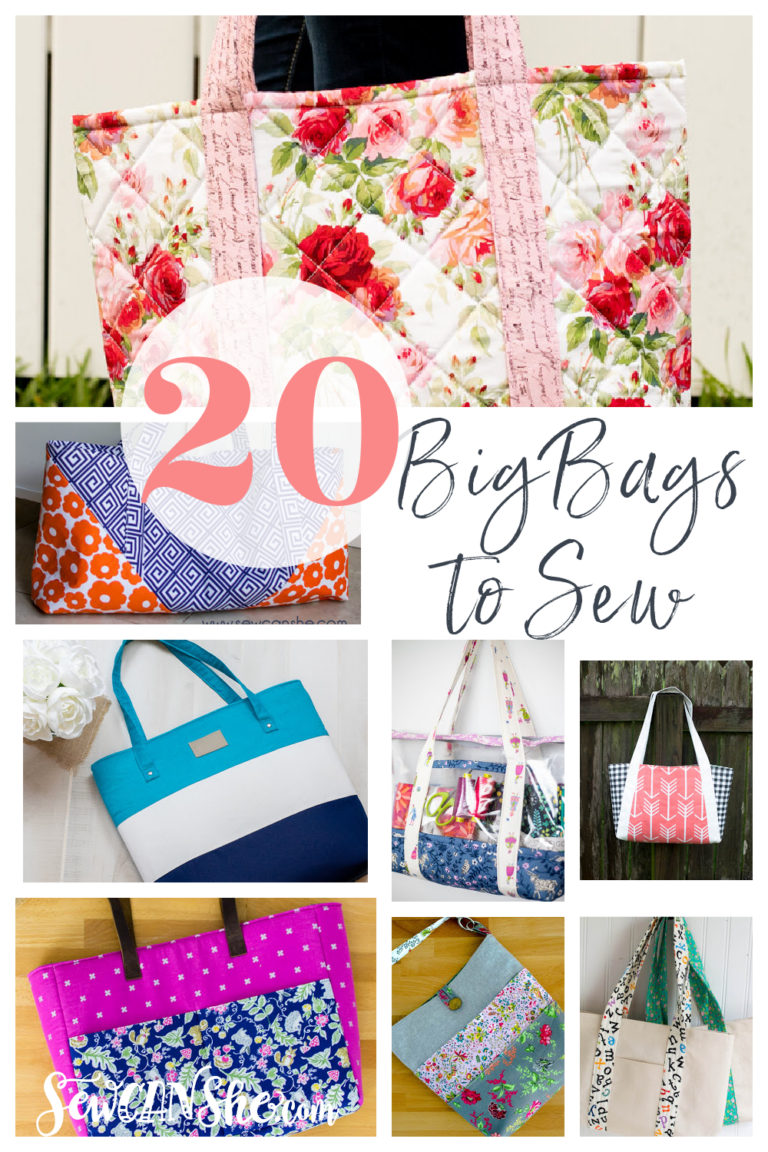 Big Bags Sewing Patterns – All Free
