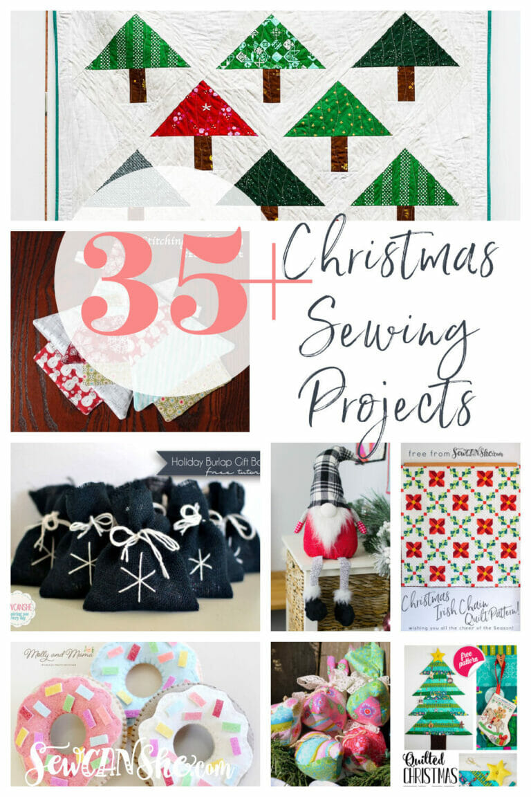 35+ Favorite Christmas Sewing Projects