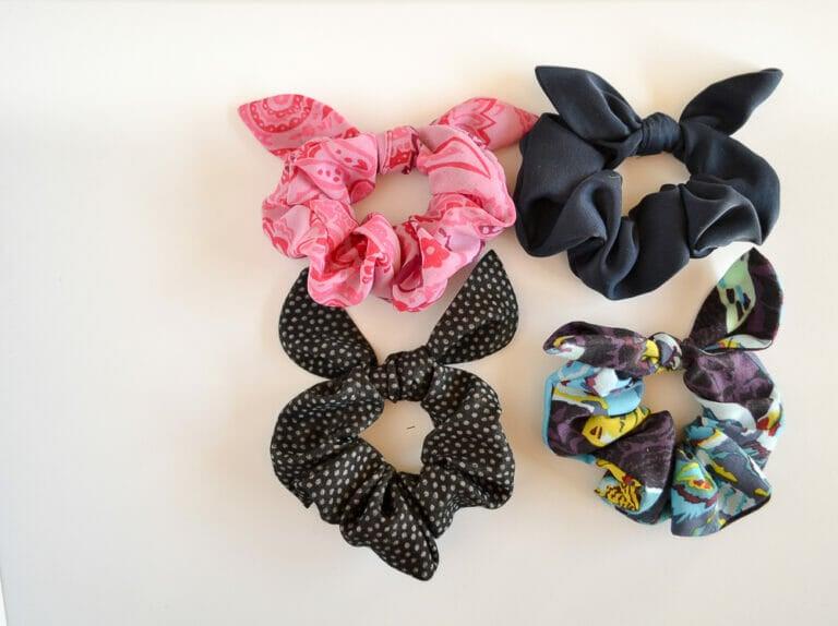 Sew a Cute Tie Scrunchie – DIY Sewing Tutorial