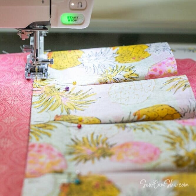 How to Sew a Closet Organizer with lots of pockets – Part 2