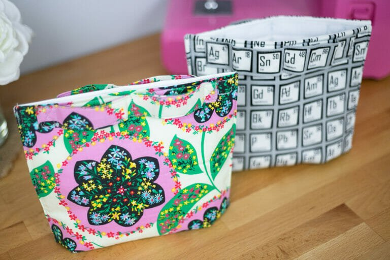 Easy Peasy Lunch Bag Sewing Pattern – Free