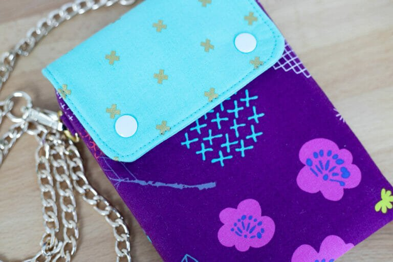 Double Compartment Cross Body Bag – Free Sewing Pattern!