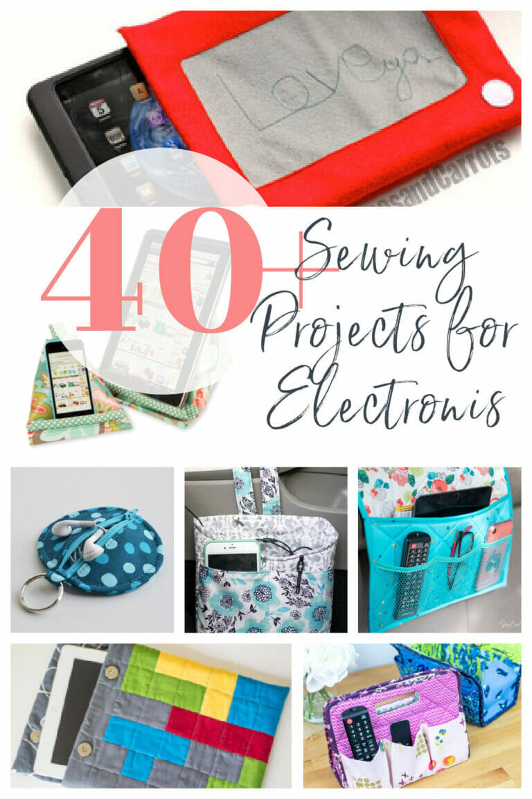 40+ Things to Sew for your Electronic Devices