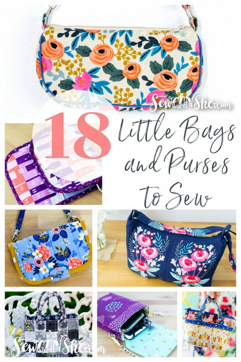 18 Little Bags and Purses – Free Sewing Patterns