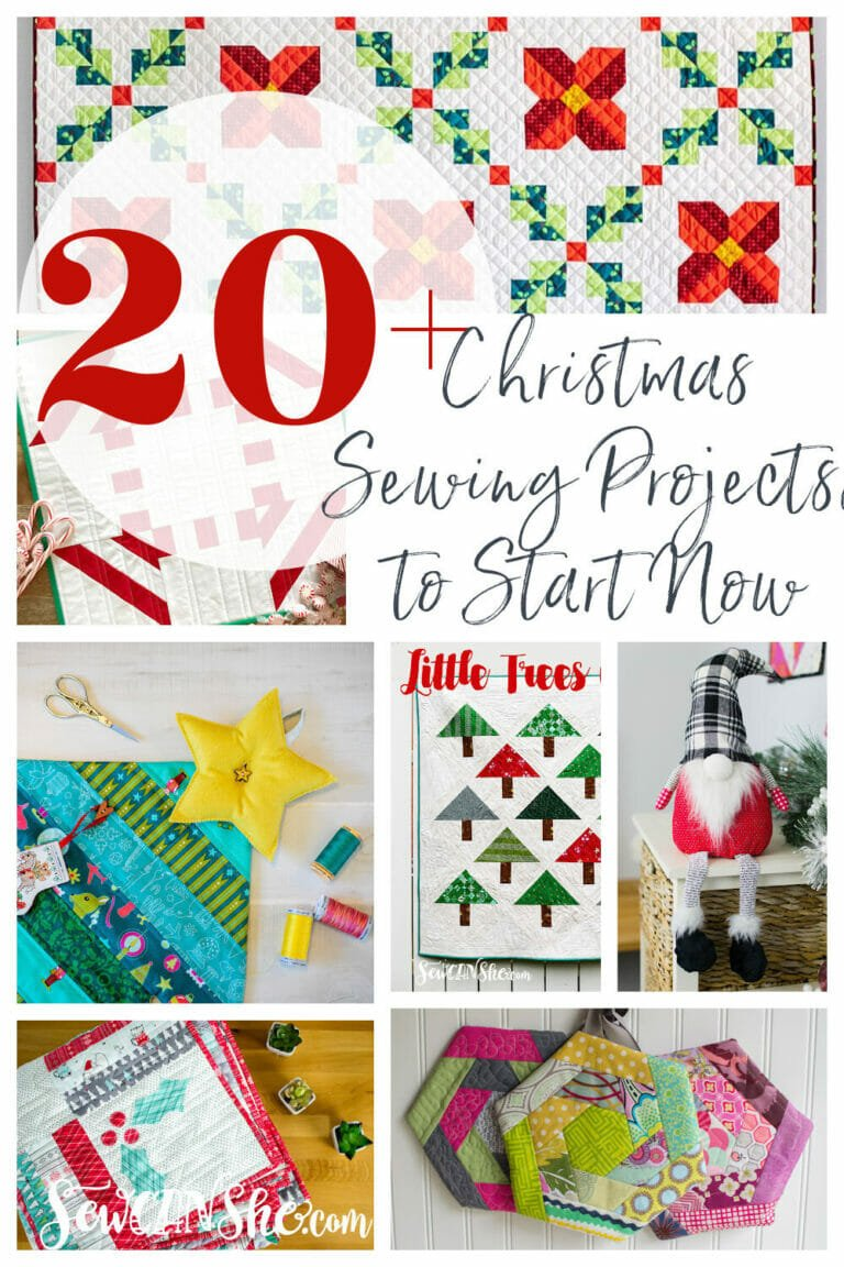 20+ Christmas Sewing Projects To Start Sewing Now