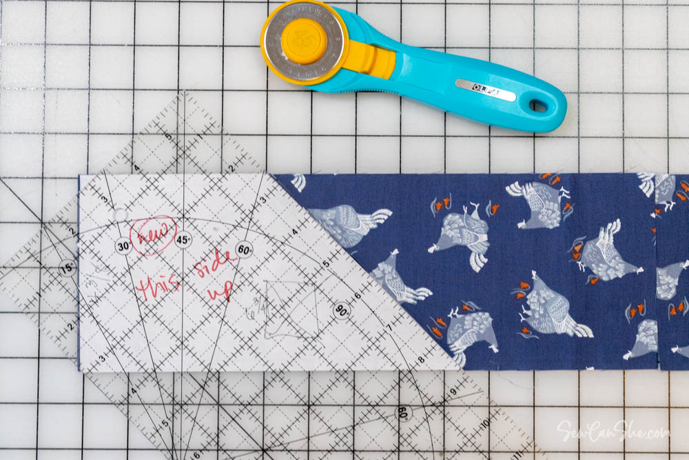 how to cut whirlwind quilt block template