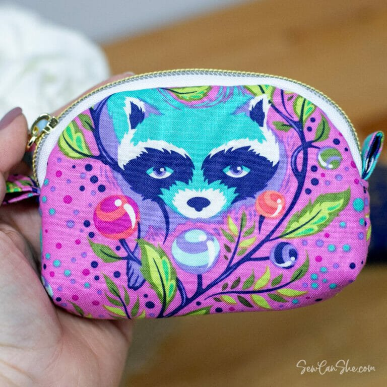 Sew the Cutest Coin Purse Pattern with a Zipper – Free!