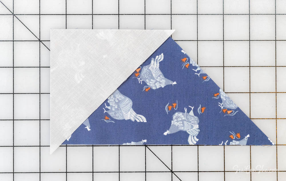 how to piece whirlwind quilt block