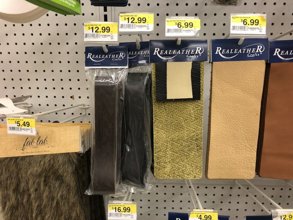 where to buy leather for the handles