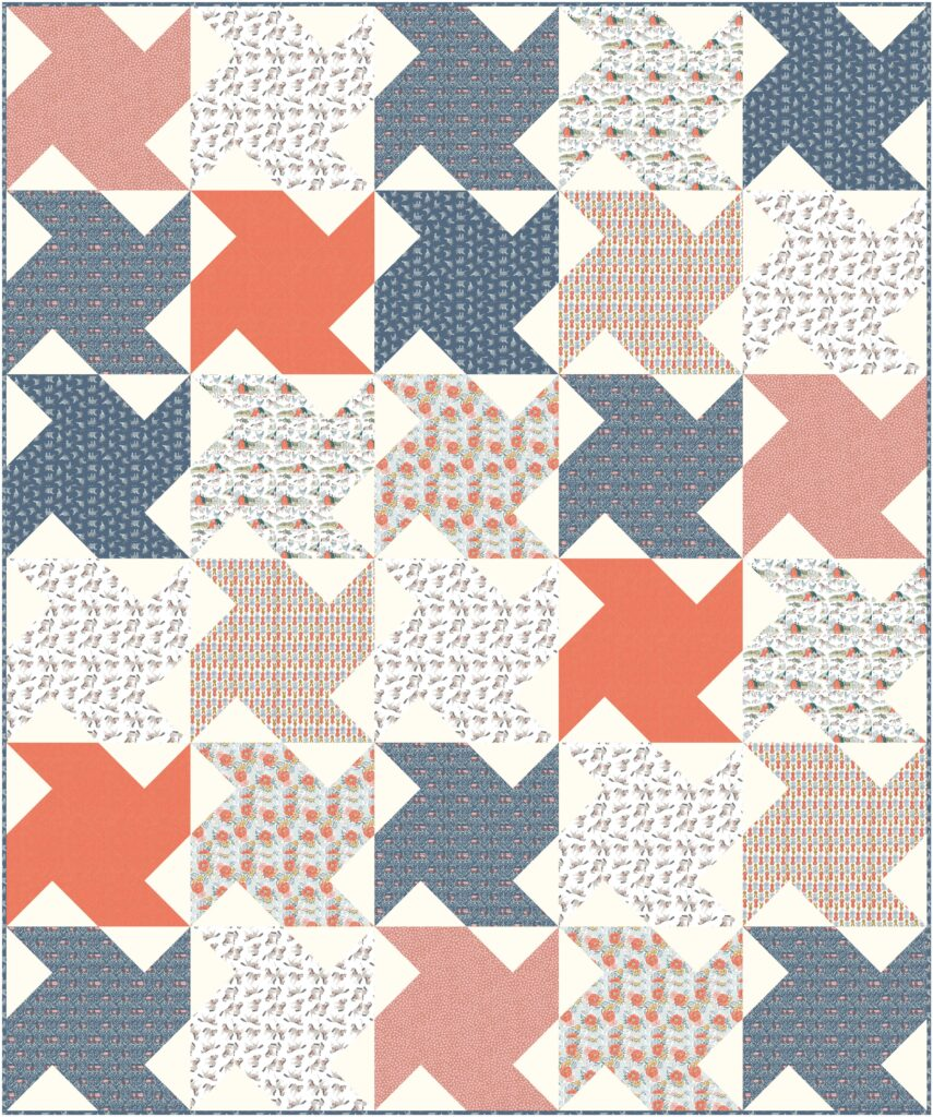 whirlwind quilt design