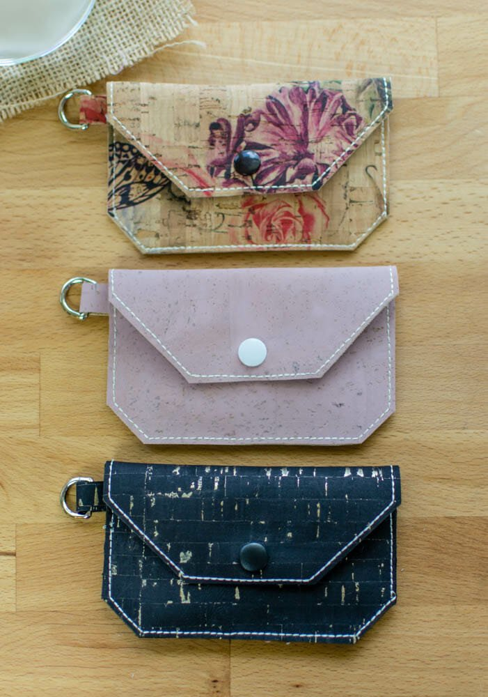 cork wallet tutorial