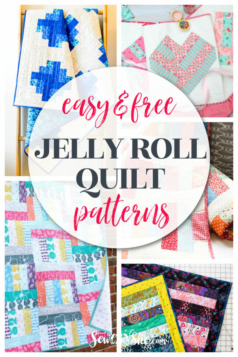 How to Make a Jelly Roll Quilt with 9 Free Patterns