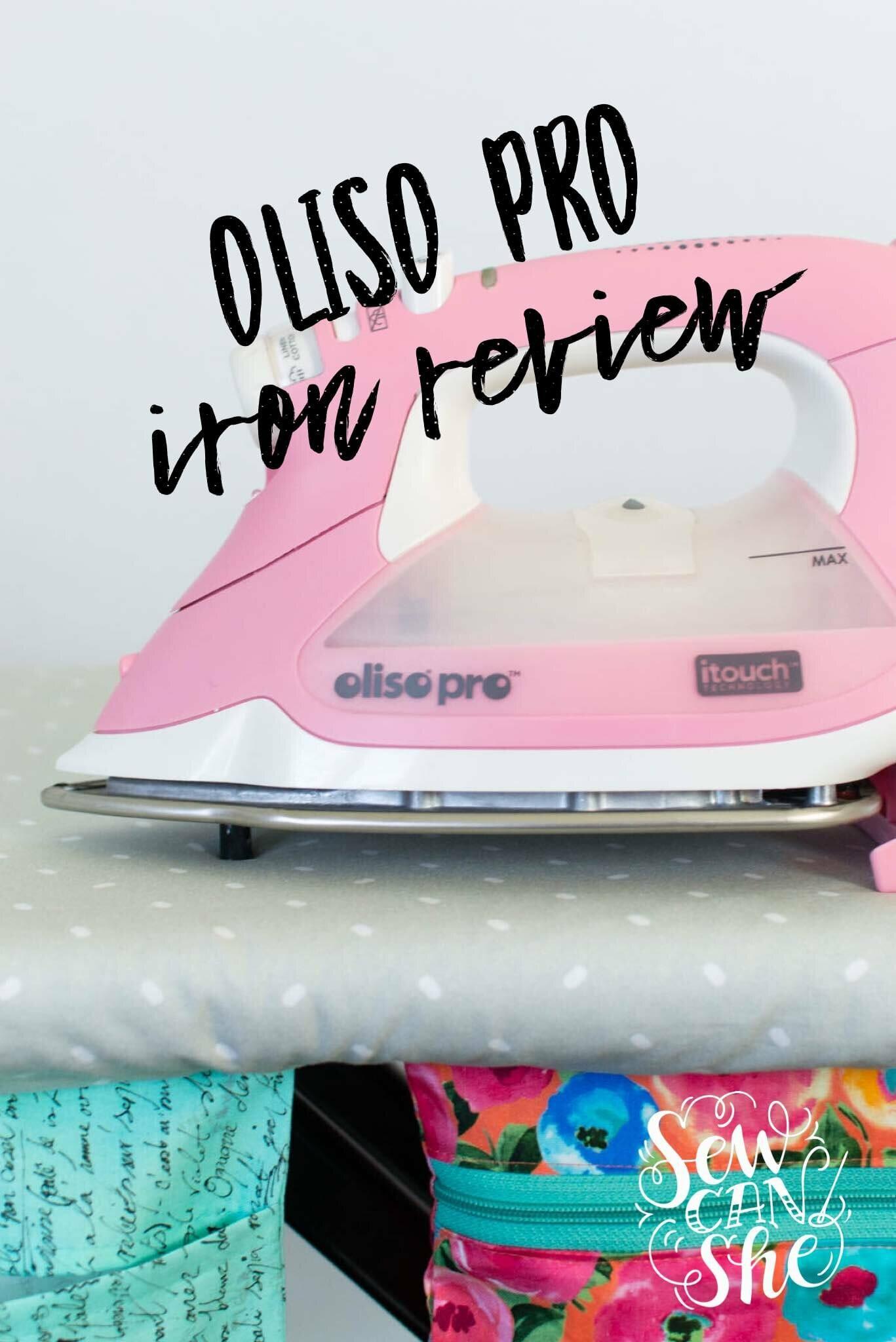 oliso pro smart iron review