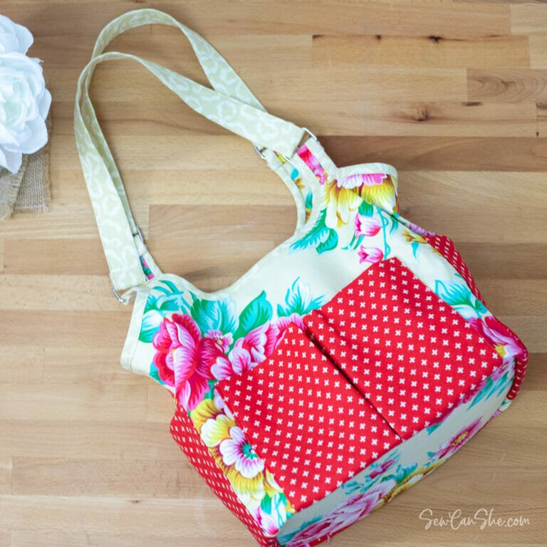 Craft Project Bag – Free Sewing Pattern